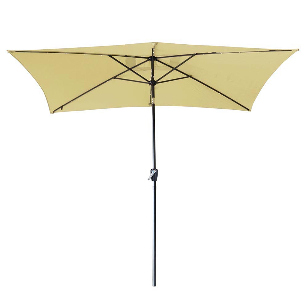 2-5m-2-7m-3m-Round-Square-Garden-Parasol-Shade-Outdoor-Patio-Umbrella-Crank-Tilt thumbnail 174