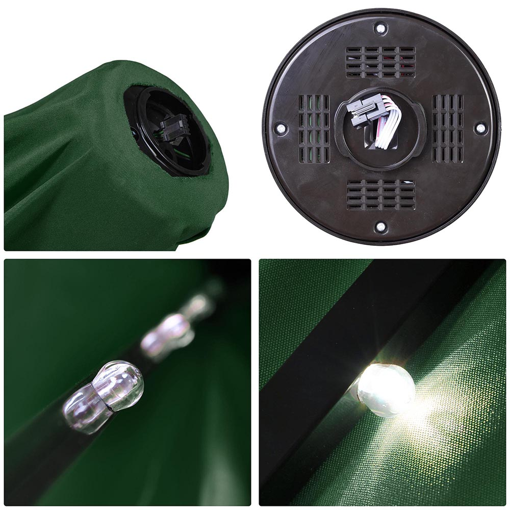 2-5m-2-7m-3m-Round-Square-Garden-Parasol-Shade-Outdoor-Patio-Umbrella-Crank-Tilt thumbnail 184