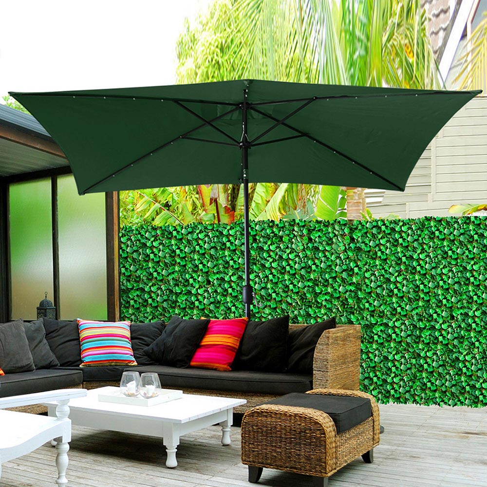 2-5m-2-7m-3m-Round-Square-Garden-Parasol-Shade-Outdoor-Patio-Umbrella-Crank-Tilt thumbnail 188