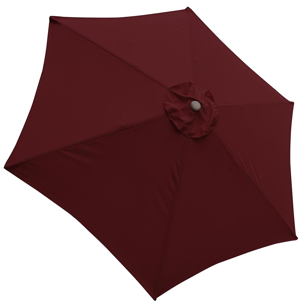 2-5m-2-7m-3m-Round-Square-Garden-Parasol-Shade-Outdoor-Patio-Umbrella-Crank-Tilt thumbnail 32