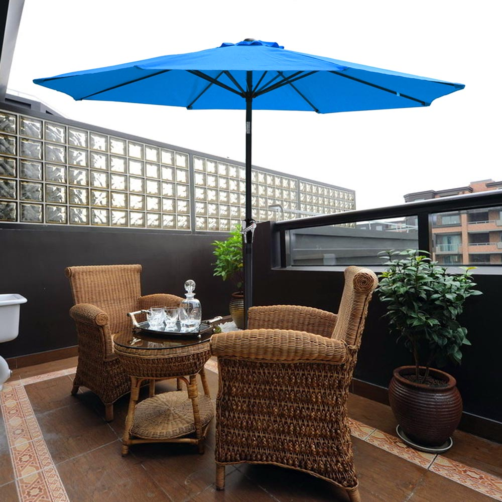 2-5m-2-7m-3m-Round-Square-Garden-Parasol-Shade-Outdoor-Patio-Umbrella-Crank-Tilt thumbnail 105