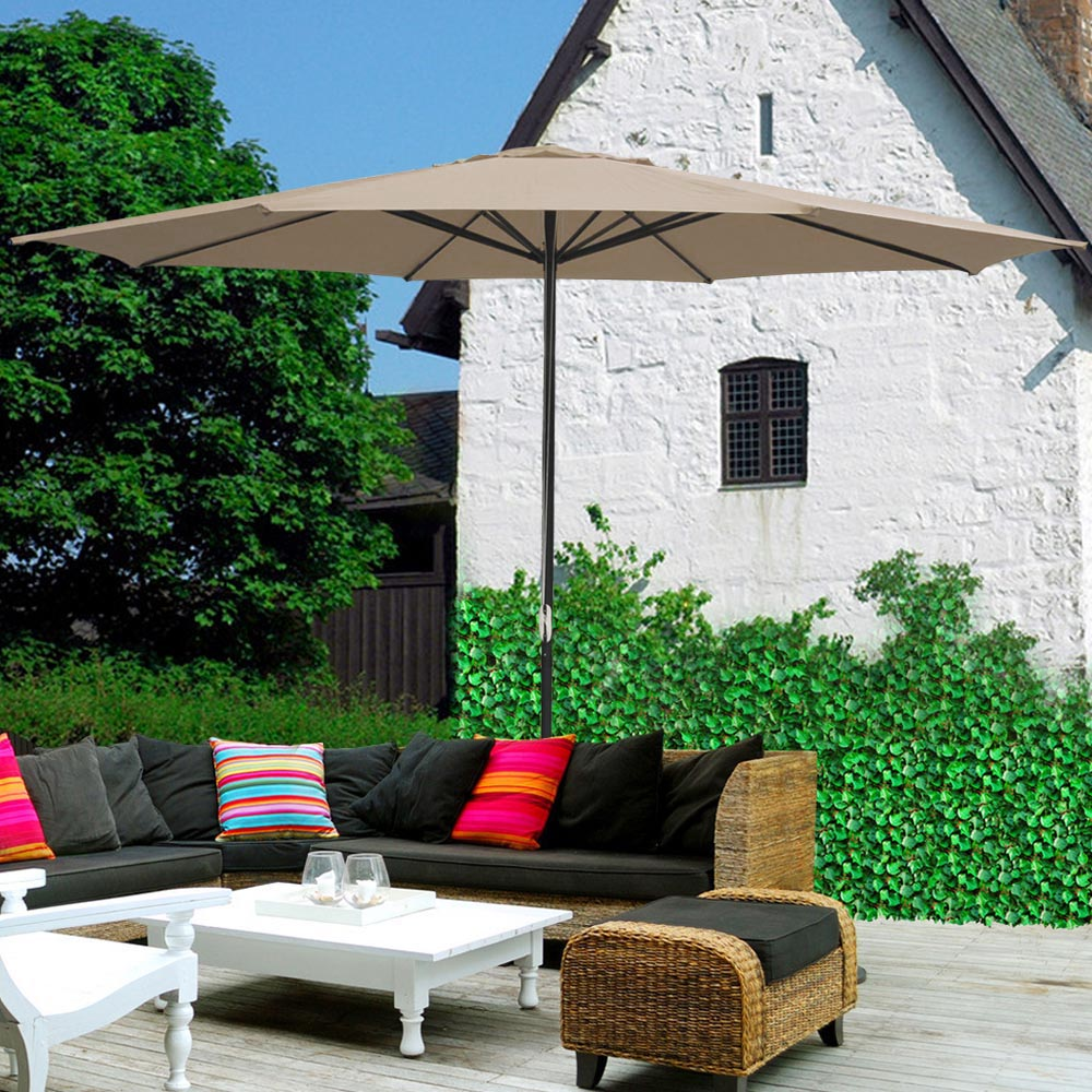 2-5m-2-7m-3m-Round-Square-Garden-Parasol-Shade-Outdoor-Patio-Umbrella-Crank-Tilt thumbnail 248