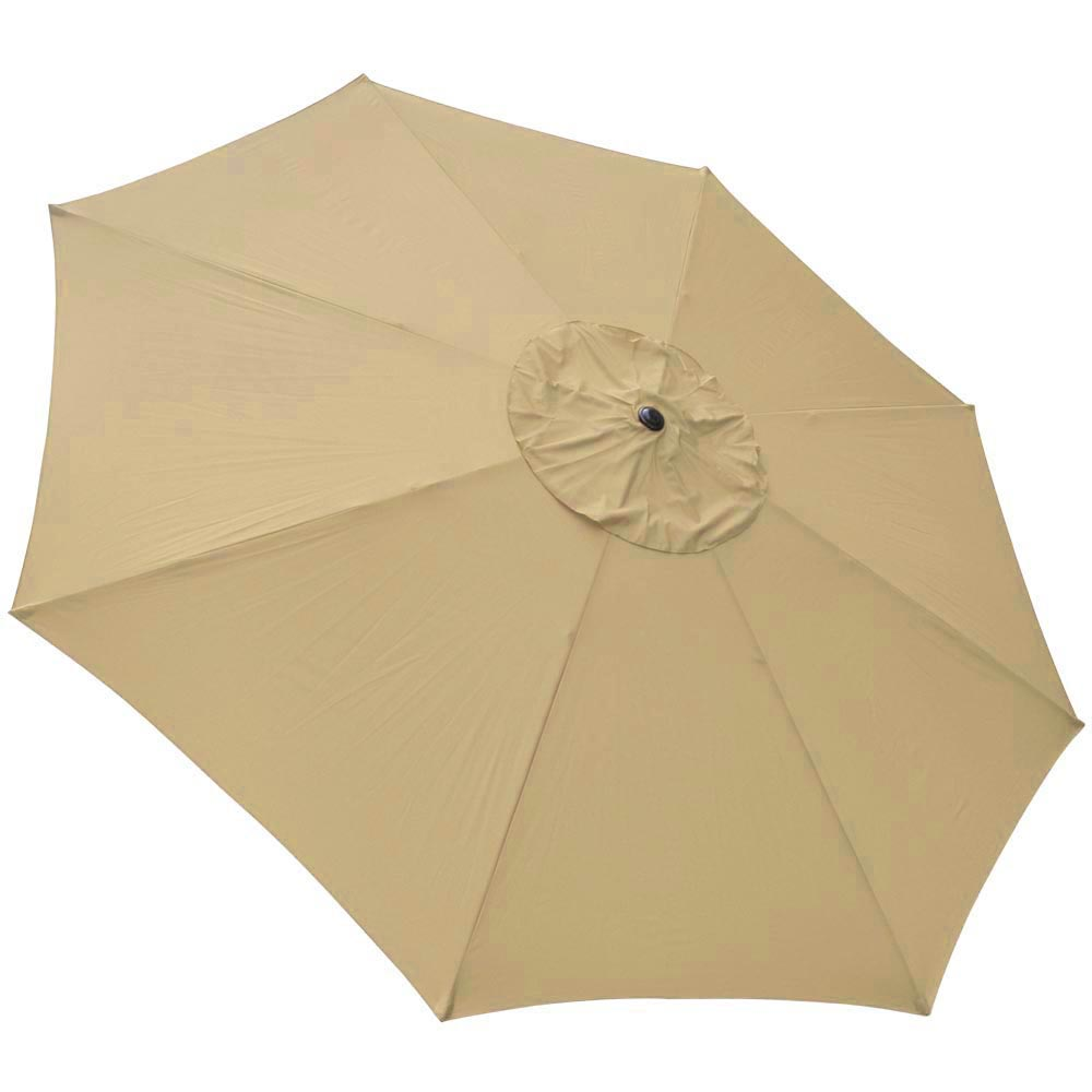2-5m-2-7m-3m-Round-Square-Garden-Parasol-Shade-Outdoor-Patio-Umbrella-Crank-Tilt thumbnail 250