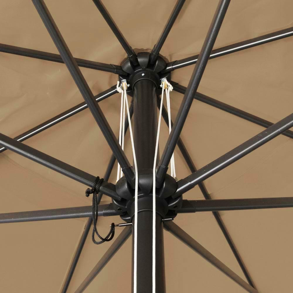 2-5m-2-7m-3m-Round-Square-Garden-Parasol-Shade-Outdoor-Patio-Umbrella-Crank-Tilt thumbnail 252