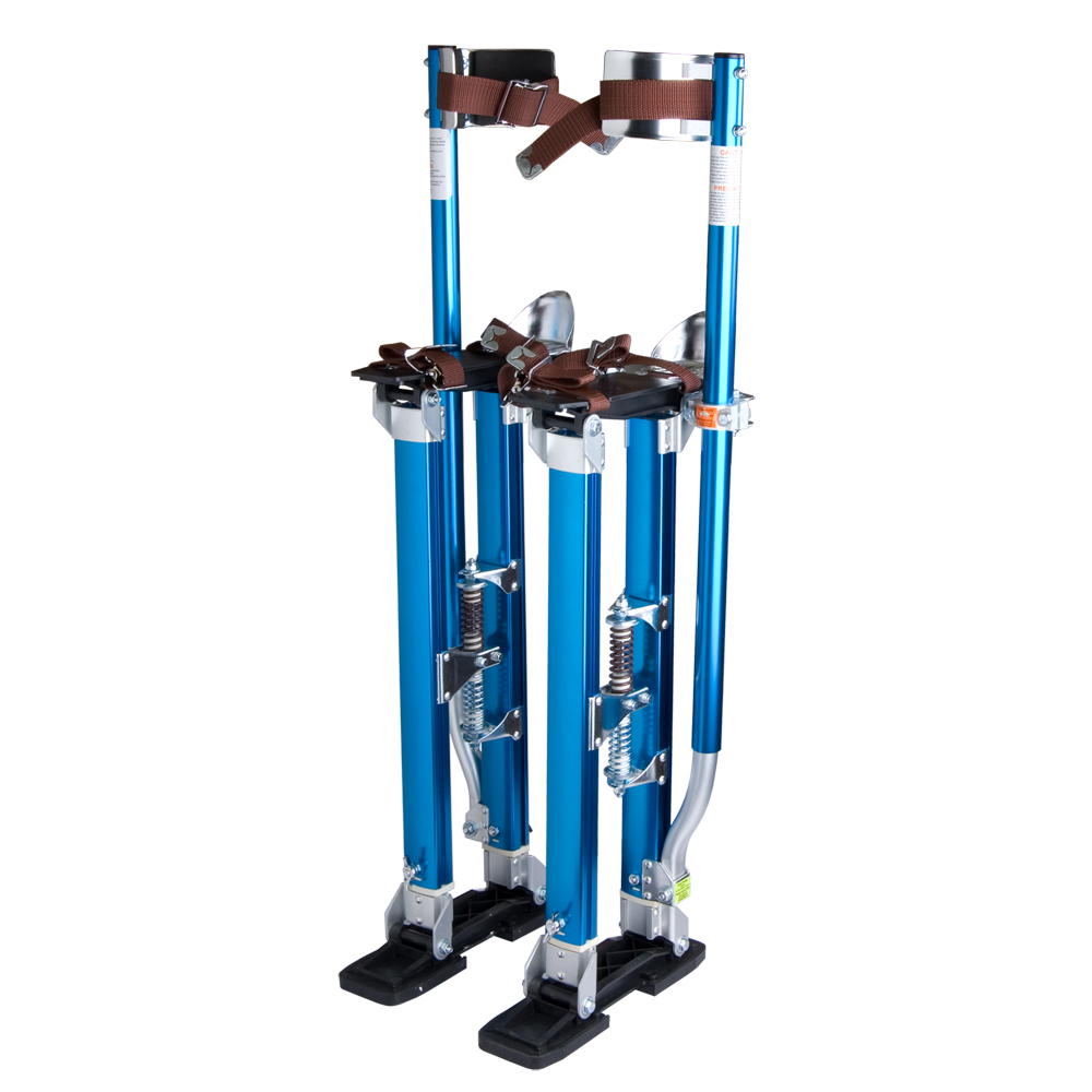 Adjustable-24-40-034-Aluminum-Drywall-Plastering-Stilts-Tool-Painter-INCD-VAT