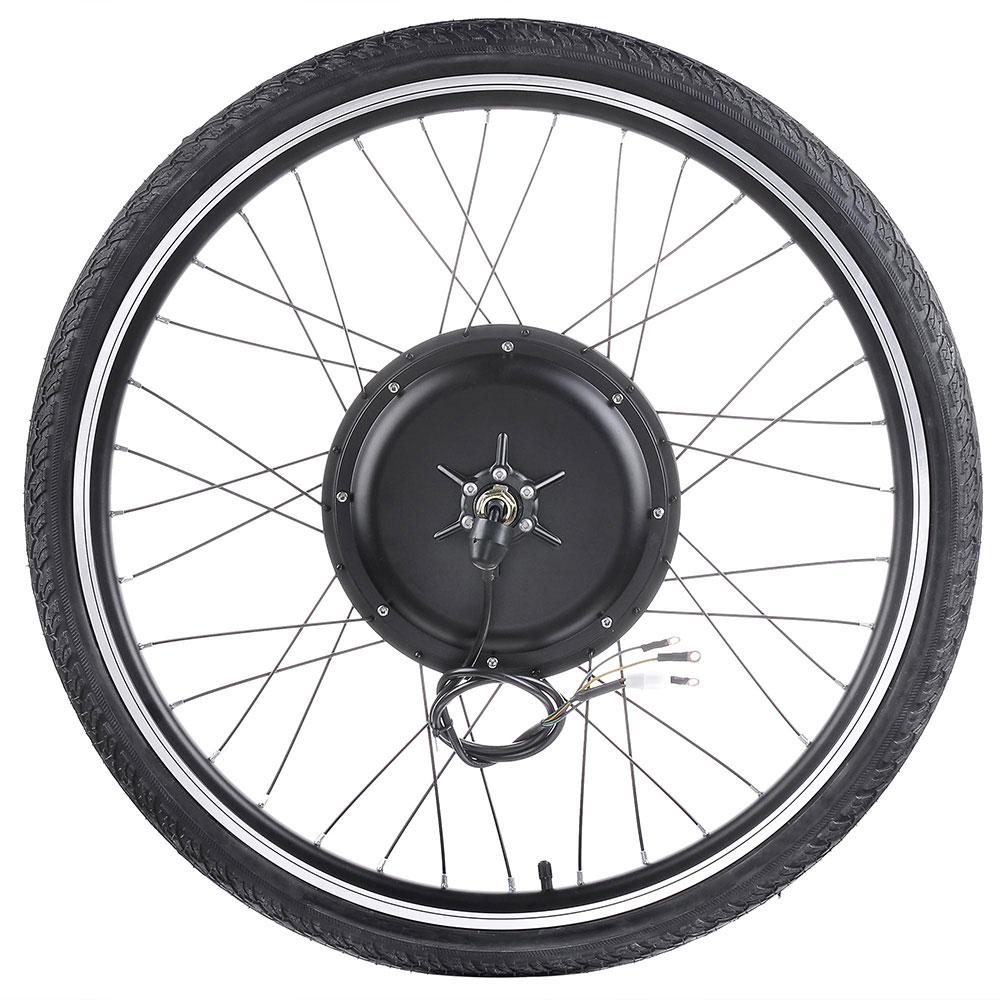 """thumbnail 18 - 26"""" Electric Bicycle E Bike Conversion Kit Cycling Front Rear Wheel 500W 1000W"""