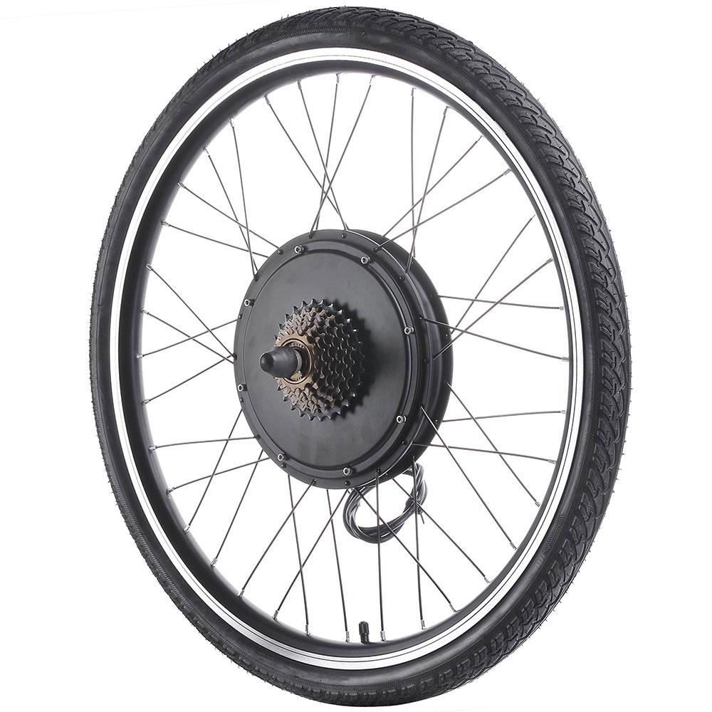 """thumbnail 19 - 26"""" Electric Bicycle E Bike Conversion Kit Cycling Front Rear Wheel 500W 1000W"""