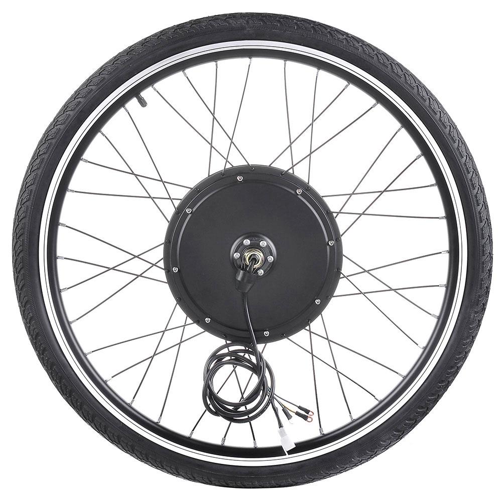 """thumbnail 25 - 26"""" Electric Bicycle E Bike Conversion Kit Cycling Front Rear Wheel 500W 1000W"""