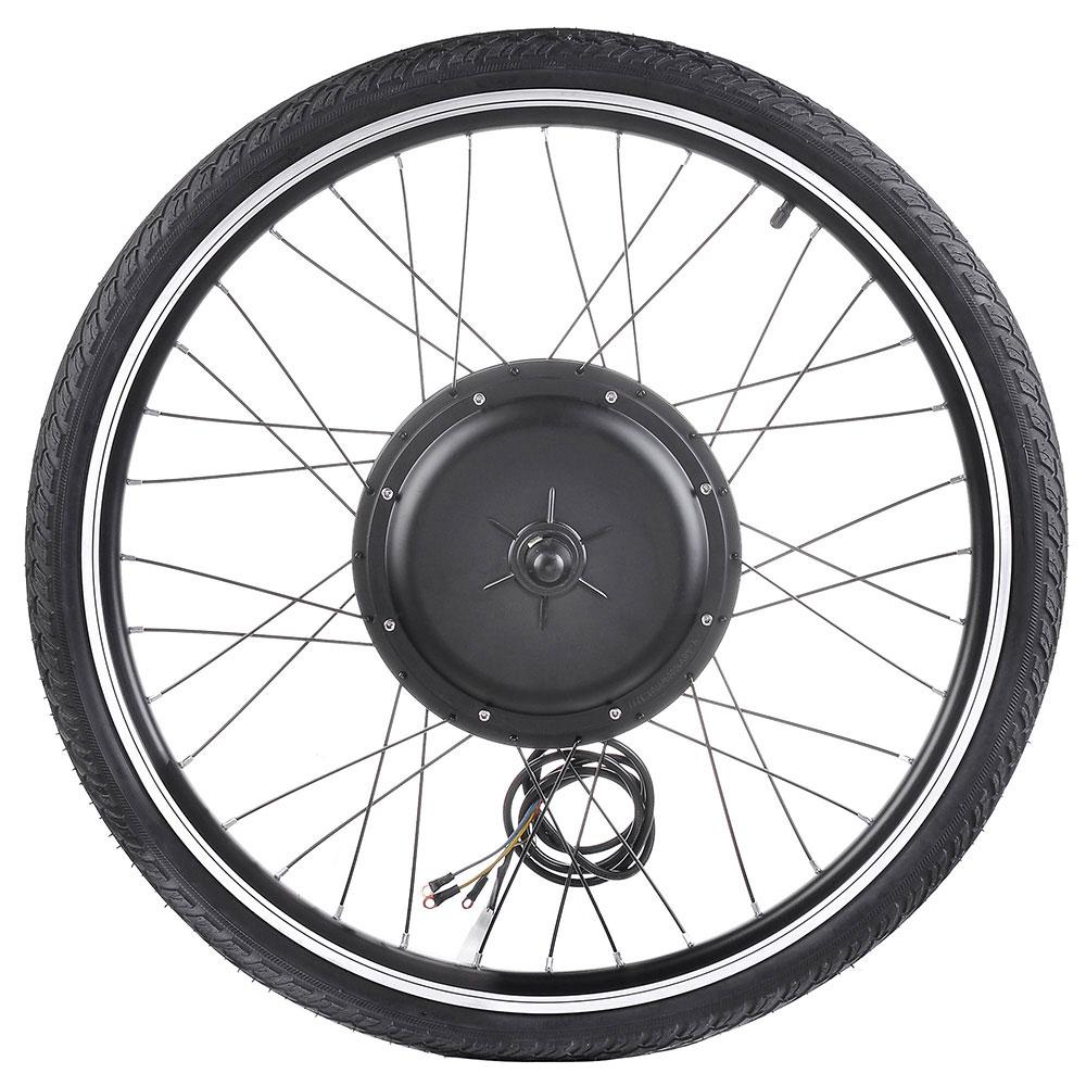 """thumbnail 26 - 26"""" Electric Bicycle E Bike Conversion Kit Cycling Front Rear Wheel 500W 1000W"""
