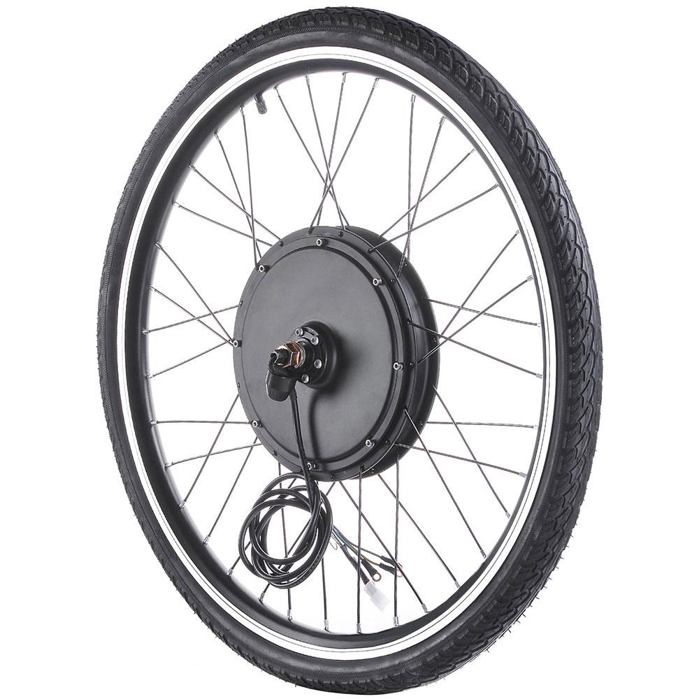 """thumbnail 27 - 26"""" Electric Bicycle E Bike Conversion Kit Cycling Front Rear Wheel 500W 1000W"""