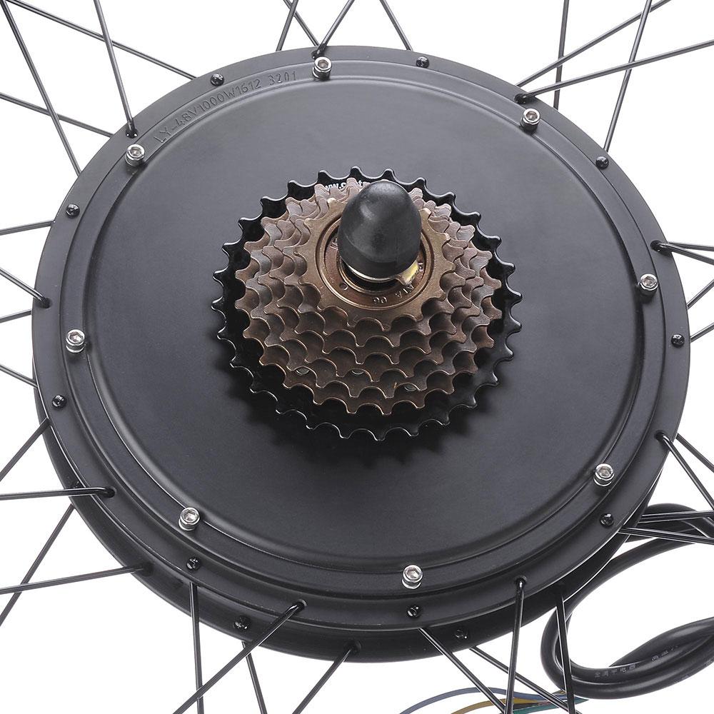 """thumbnail 36 - 26"""" Electric Bicycle E Bike Conversion Kit Cycling Front Rear Wheel 500W 1000W"""