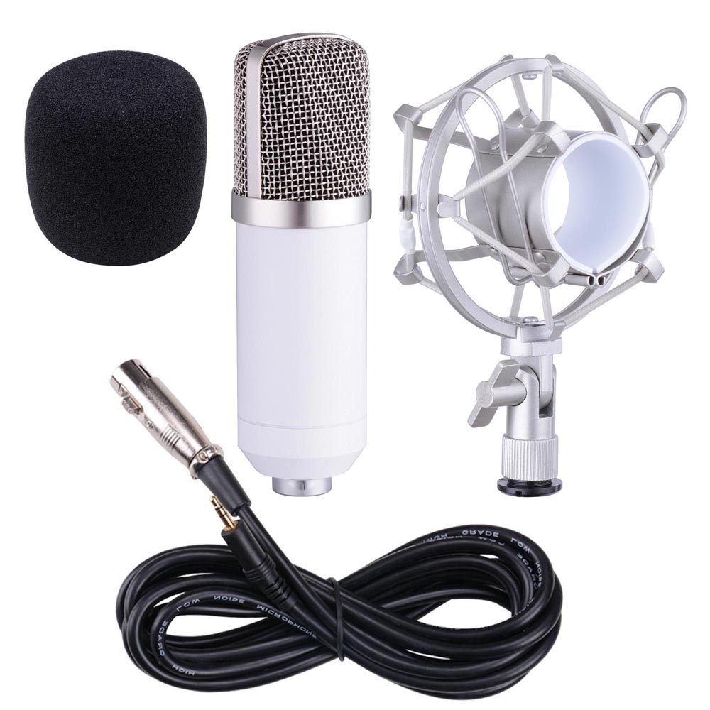 bm700 bm800 condenser microphone shock holder vocal mic home studio sound record ebay. Black Bedroom Furniture Sets. Home Design Ideas