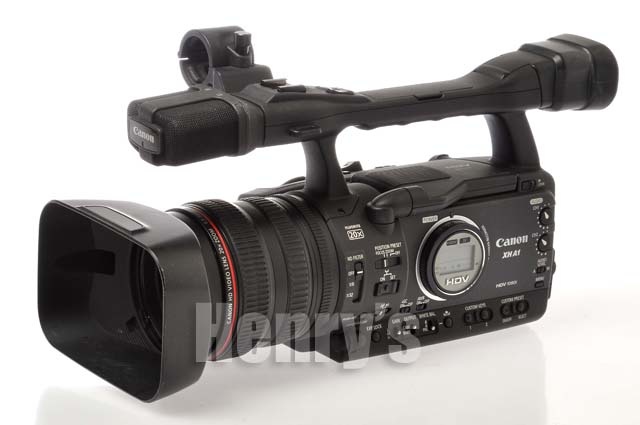 canon xh a1 ntsc high def digital video camcorder used 1. Black Bedroom Furniture Sets. Home Design Ideas