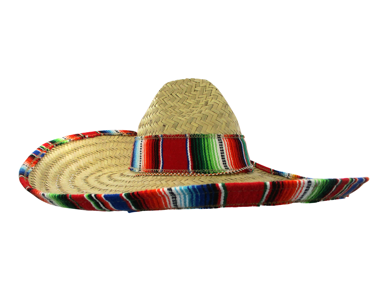 buena venta compre los más vendidos en stock Details about Mexican Sombrero Hat Adult Costume Spanish Fiesta Cinco De  Mayo Festive Salsa