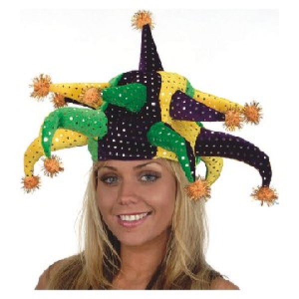 Jacobson Hat Company Velvet Jester with Points and Bells