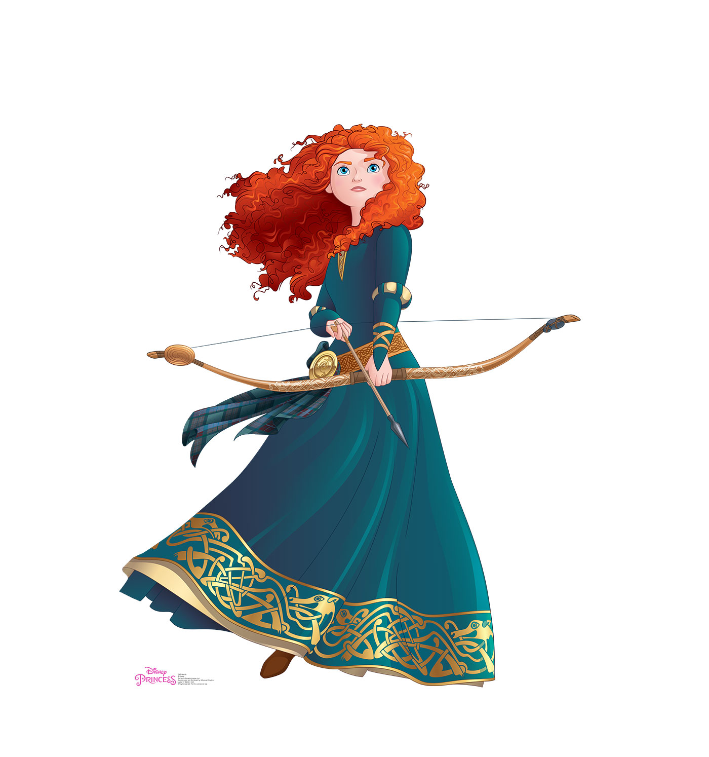 Disney Princesa Merida Valiente Lifesize Standup Pie