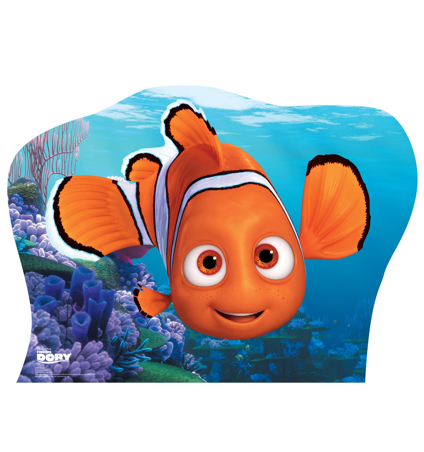 Finding dory nemo clown fish disney lifesize standup for Finding nemo fish