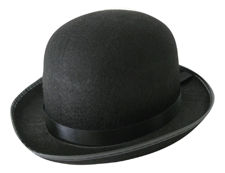 Details about Men s Roaring 20 s Black Felt Derby Light Bowler Top Hat  Costume Accessory 647c4341bad