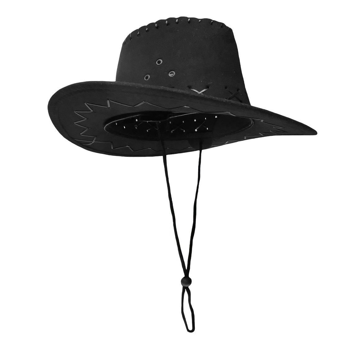 Child Cowboy Cowgirl Faux Suede Hat Western Colors Boys Girls ... 1f696ebc9d8
