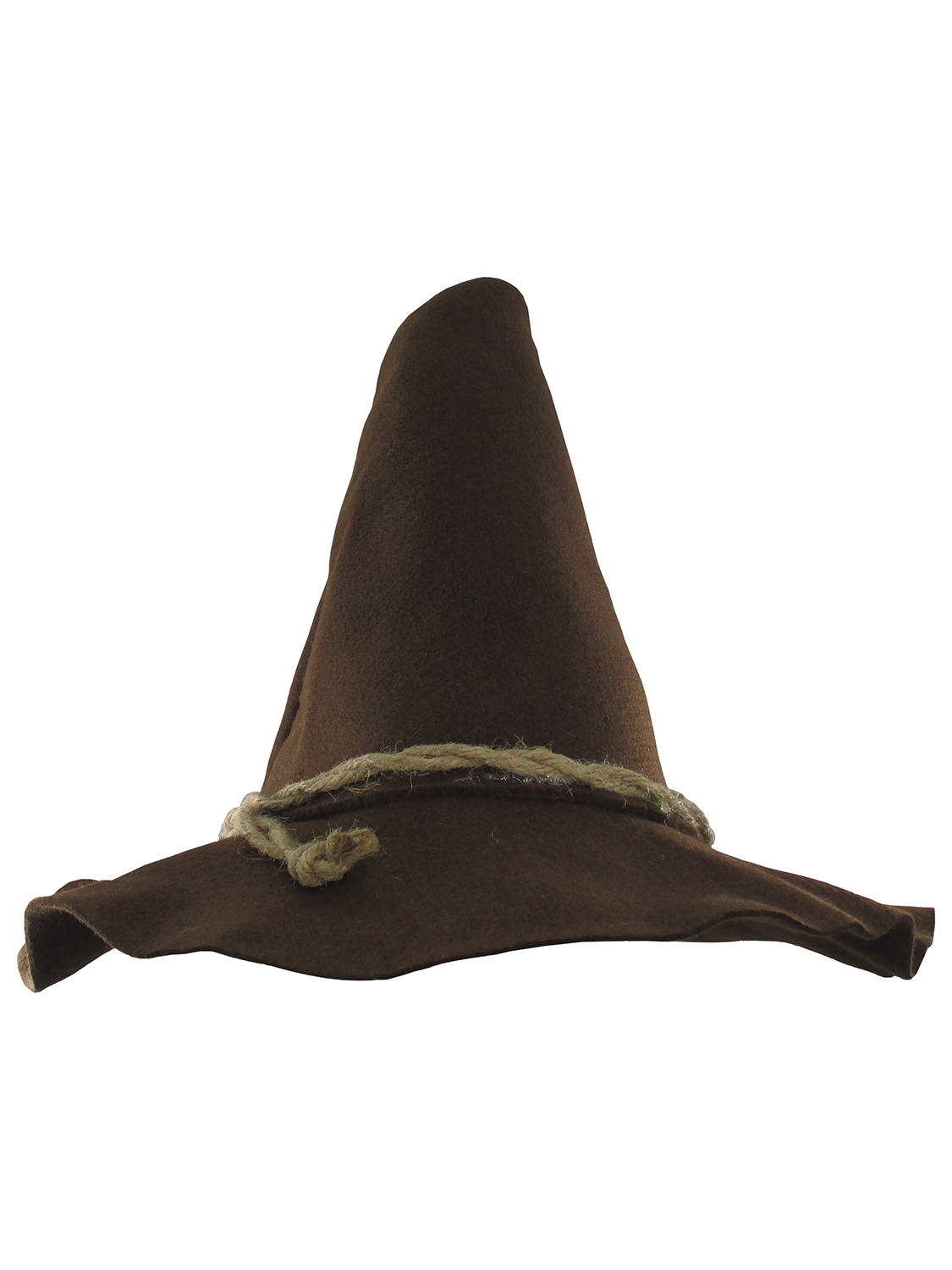 5a671b18 Adult Deluxe Felt Scarecrow Witch Oktoberfest Wizard Hillbilly Costume Hat