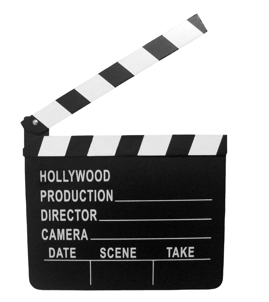 73bdb3f82e2 Details about Movie Prop Director Hollywood Chalk Slate Board Clapper  Costume Accessory Small