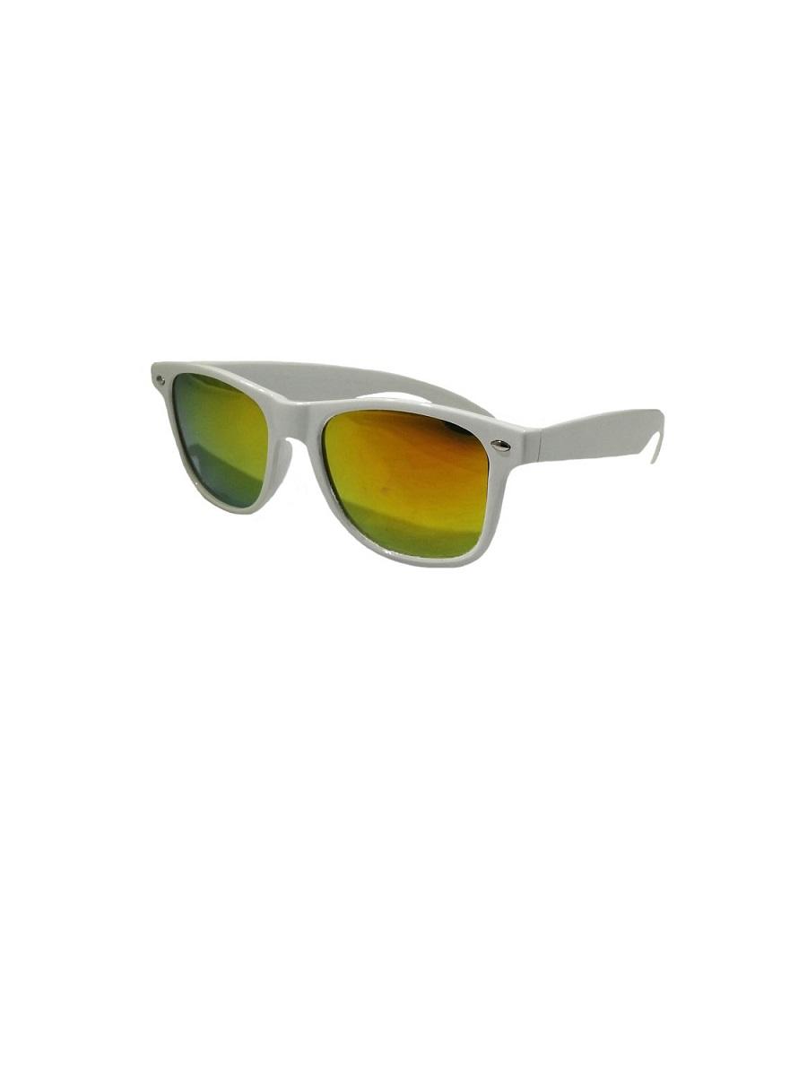 0f1a214ac5f0 Details about Explorer Punk Rocker White Sunglasses Yellow Blue Purple Lens  Costume Accessory