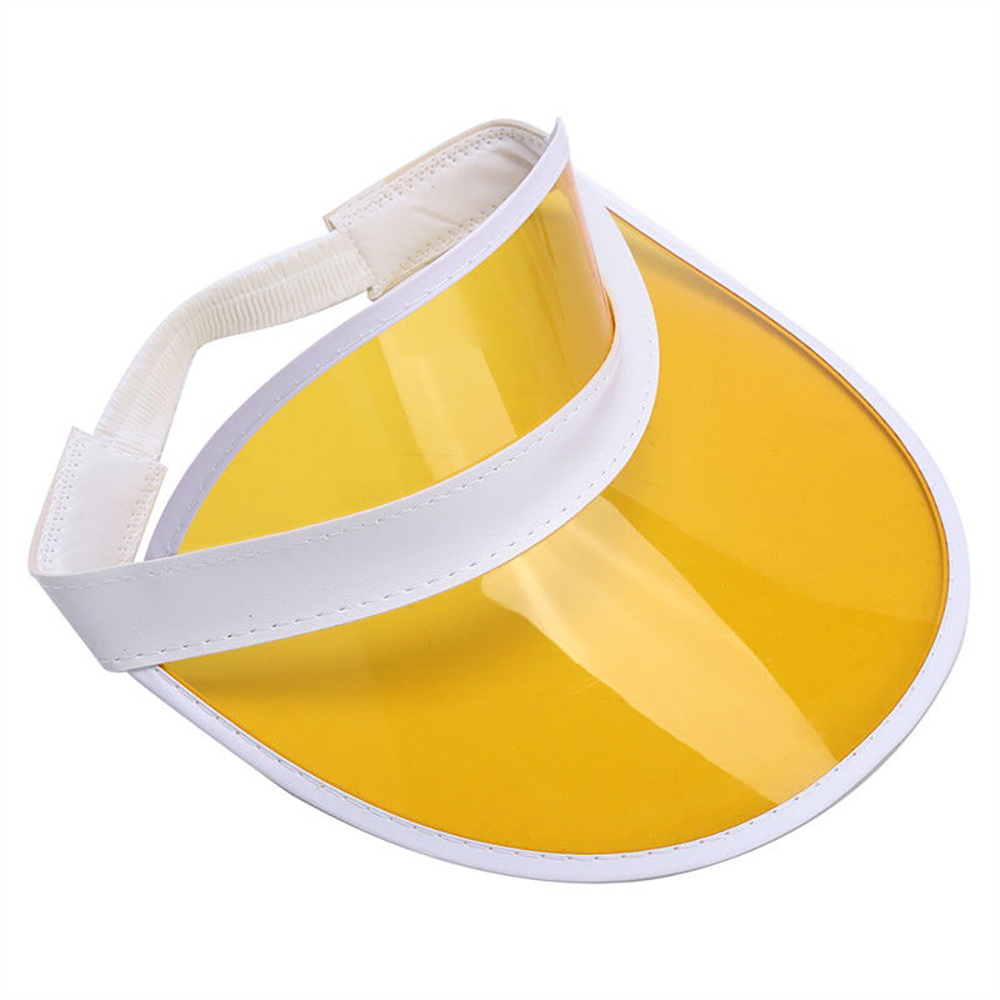 ad83eb16d46acc 13 Pack Retro Tennis Beach Plastic Sun Bingo Dealer Golf Casino Visors Hats
