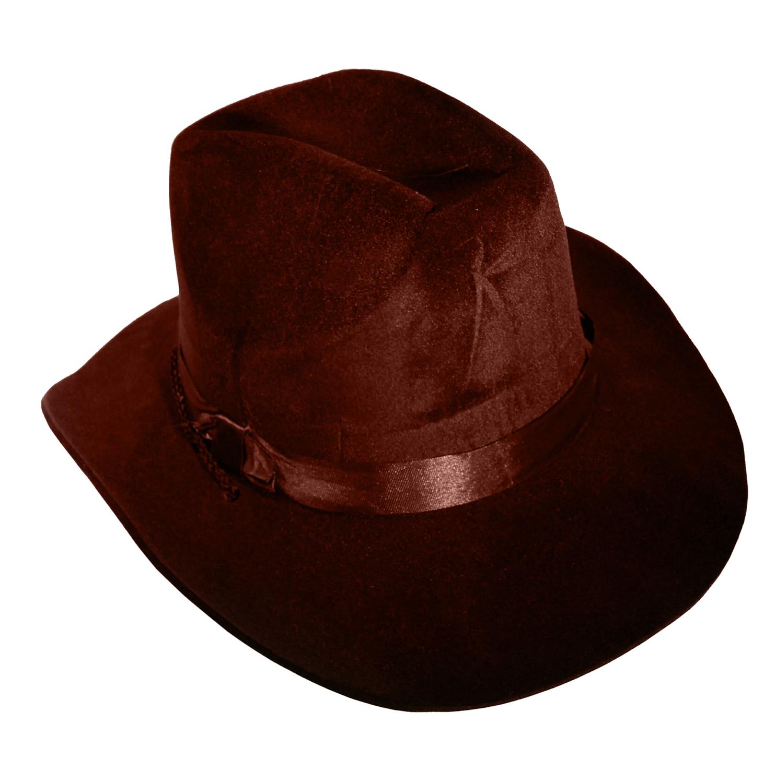c164797fad4 Wild West Old Western Sheriff Cowboy Hat Flocked Foam Costume Accessory NEW