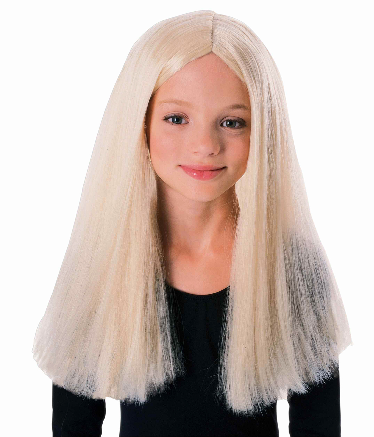 Children/'s Long Blonde Wig Witches And Warlocks Cursed Child Costume Accessory