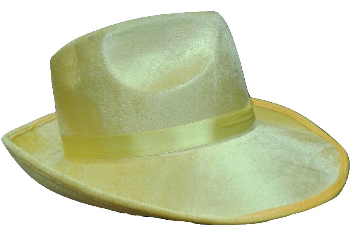 Details about Men s Yellow Dick Gangster Felt Tracy Fedora Hat 1920s Adult  Costume Accessory 370d09ca825