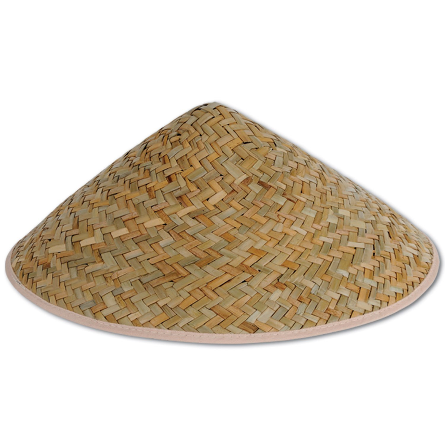 8374e52c775 Asian Vietnamese Japanese Coolie Straw Bamboo Sun Hat Farmer Costume  Accessory
