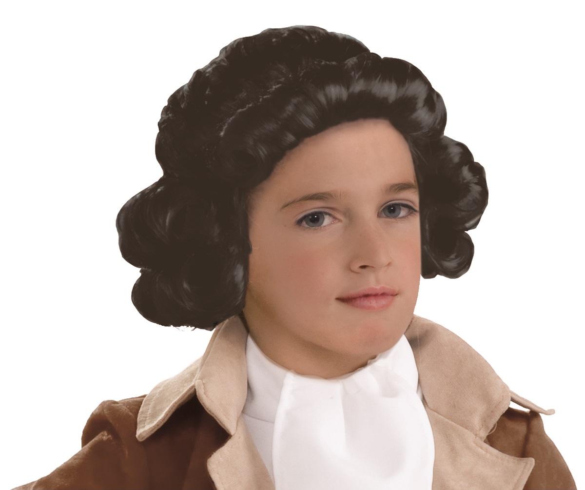 child colonial boy george washington costume wig school play