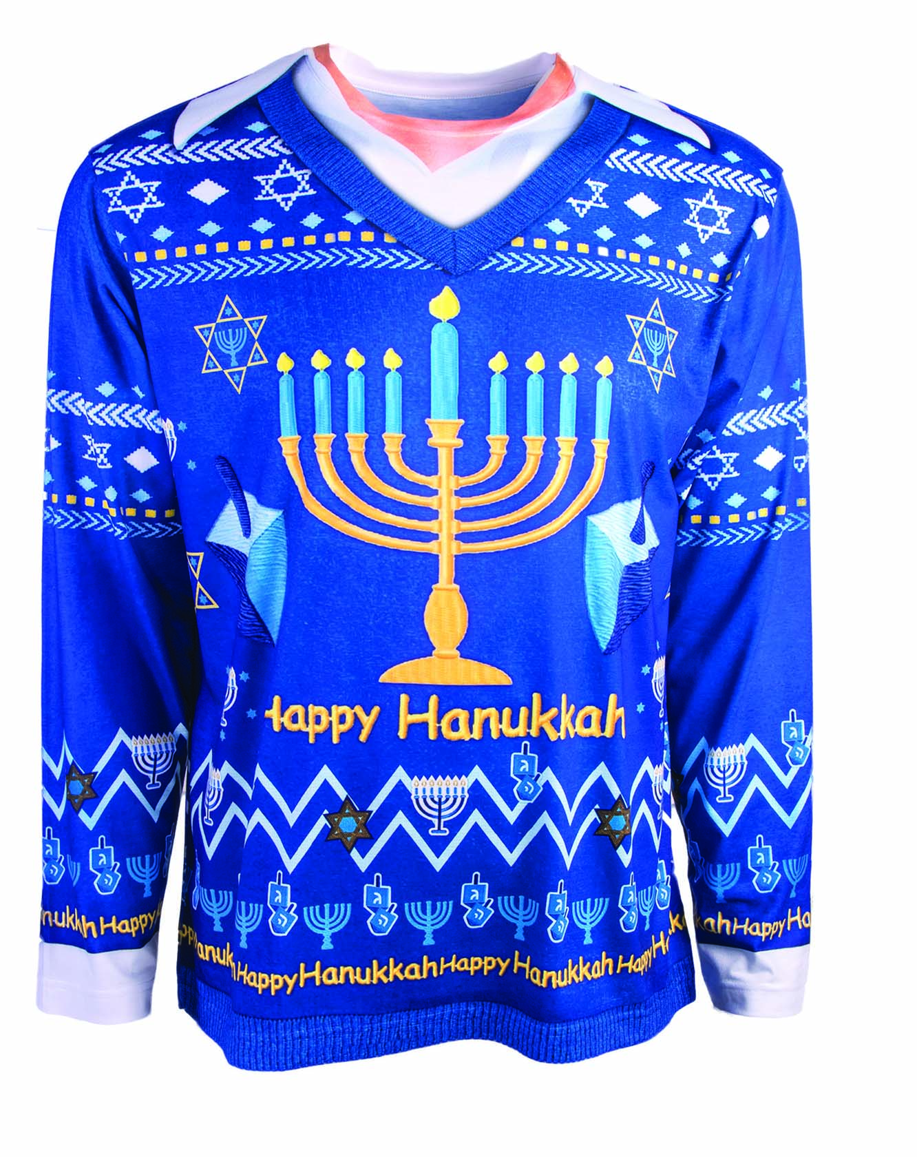 Jewish Christmas Sweater.Details About Ugly Christmas Sweater Happy Chanukah Hanukkah Jewish Holiday Adult Unisex Shirt