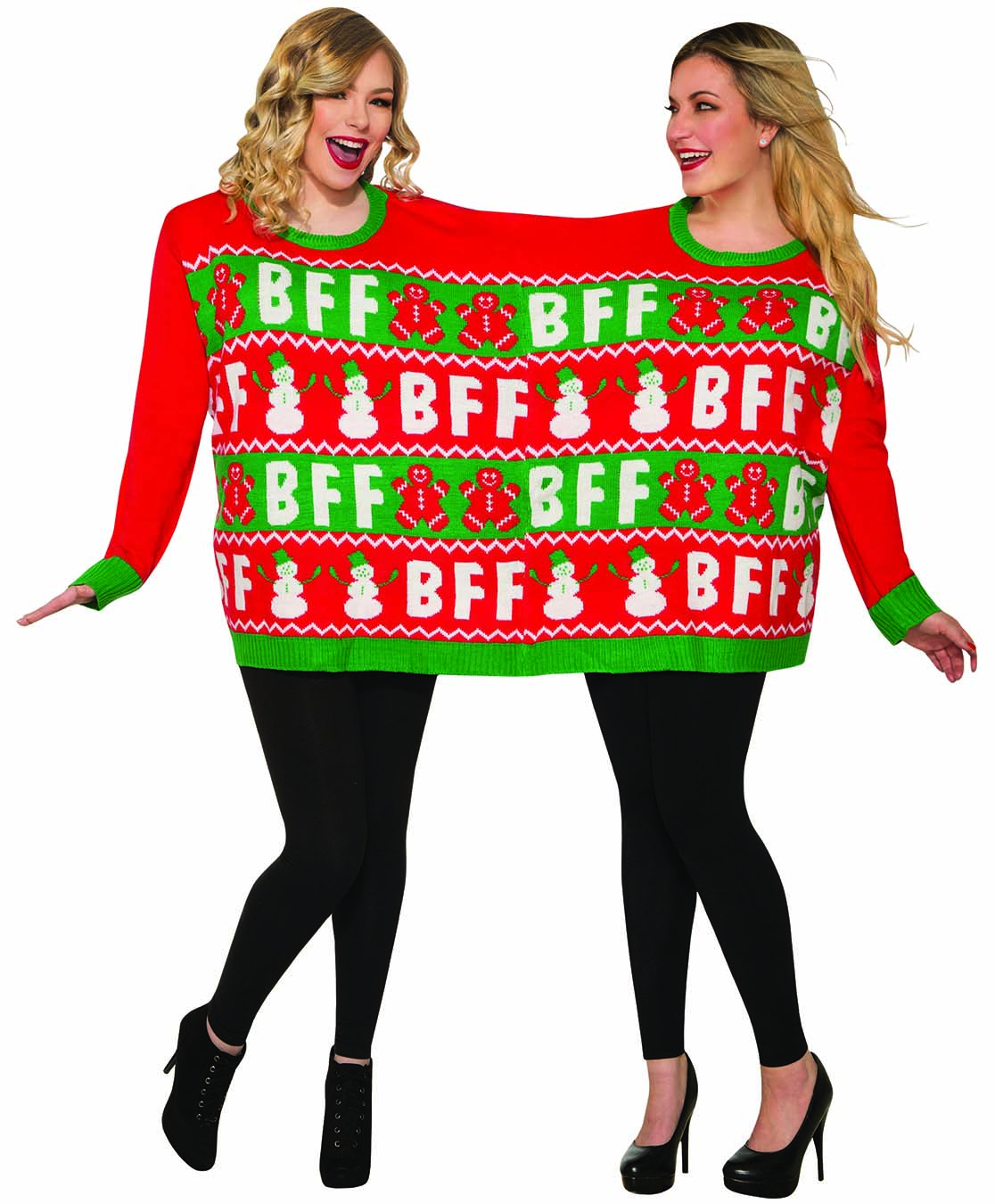 Best Friends Sweater for Two Girls Best