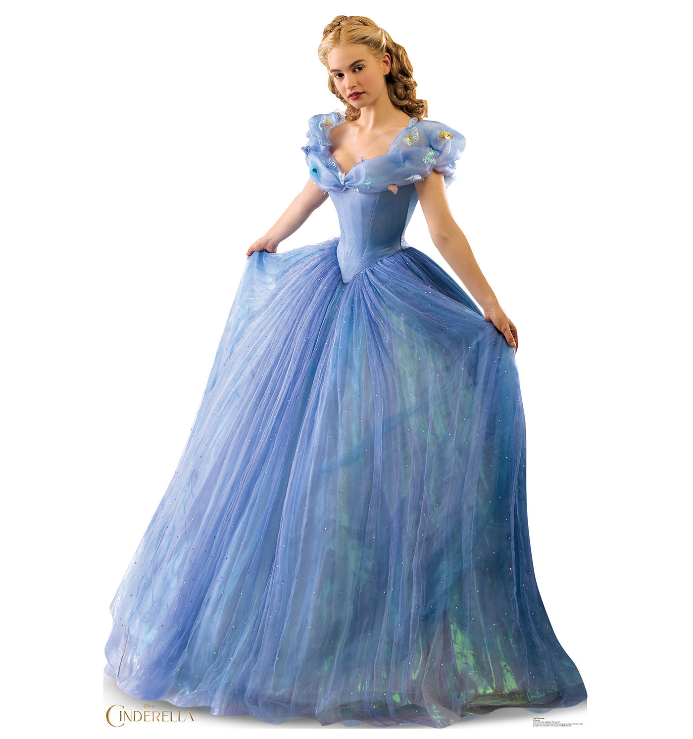 Cinderella the Movie Ball Gown Disney Princess Standup Standee ...