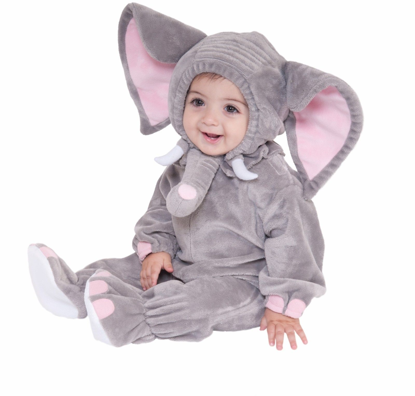 infant toddler child elephant zoo animal jumpsuit cute baby