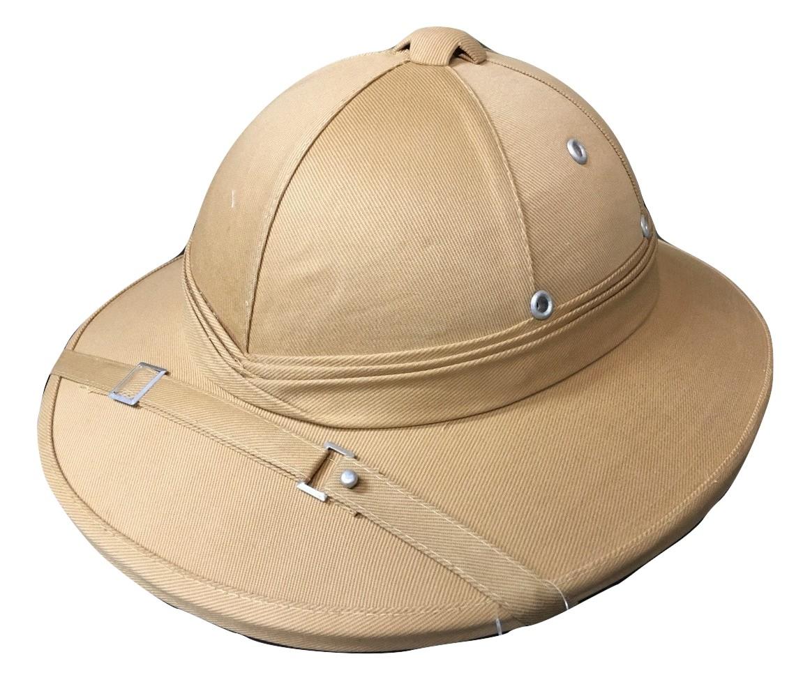 Safari Hat Helmet British Military Jungle Explorer Aussie Bucket Pith  Costume c29b38ed98d