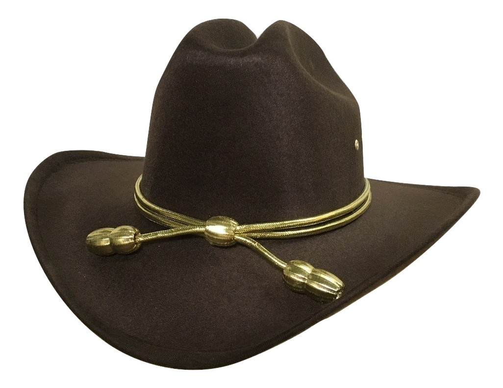 Western Style Home Decor Child Boys Rick Carl Grimes King County Sheriff Hat Brown