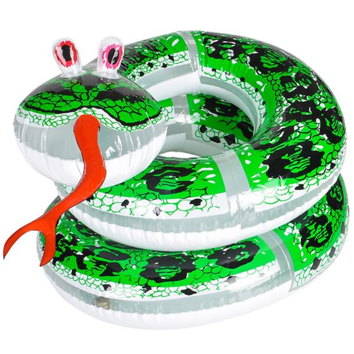60  Giant Inflatable Coil Snake Python Zoo Animal Beach Pool Party Float Fun Toy  sc 1 st  eBay & 60