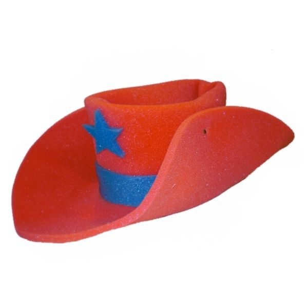 30 Gallon Foam Cowboy Costume Hat Pick Color 10 20 Giant ... 10 Gallon Cowboy Hat Front