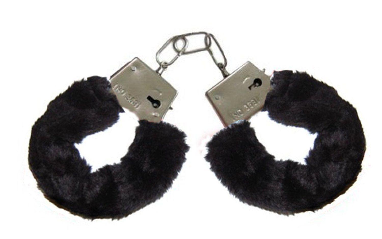 Fuzzy sex handcuffs
