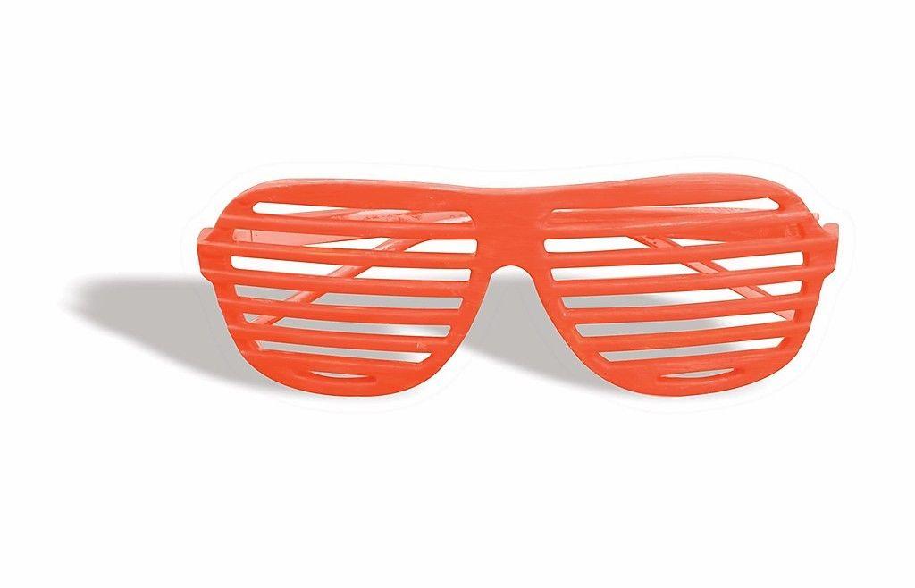 d4b6662a46 Forum Novelties Glasses Slot Neon Orange