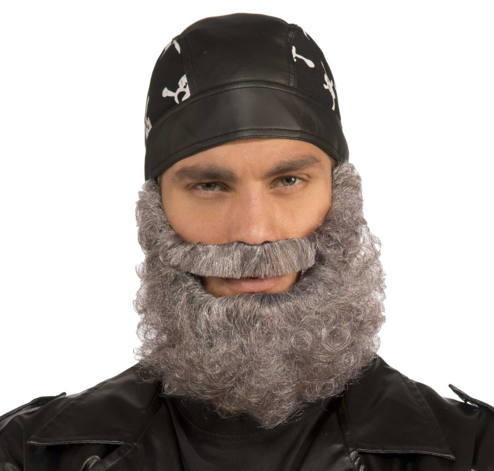 curly beard black brown grey facial hair mens - Halloween Costumes With Facial Hair