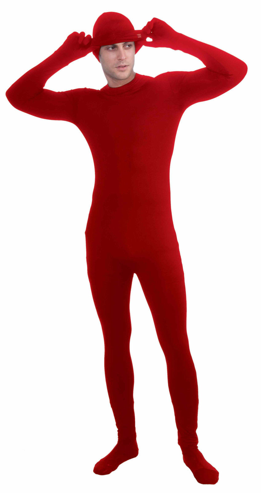 the disappearing man 2nd skin adult red unitard costume forum