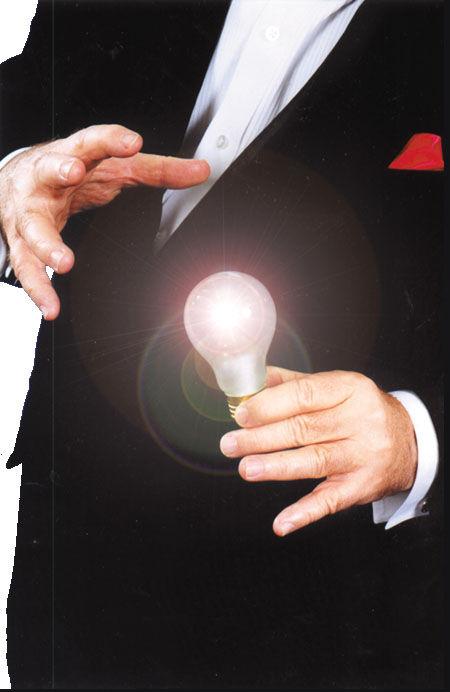Magic Light Bulb Addams Family Uncle Fester Trick Costume