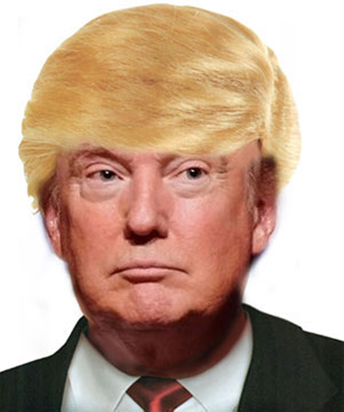 Donald Trump Wig Costume Blonde Comb Over Wig Hair Mr