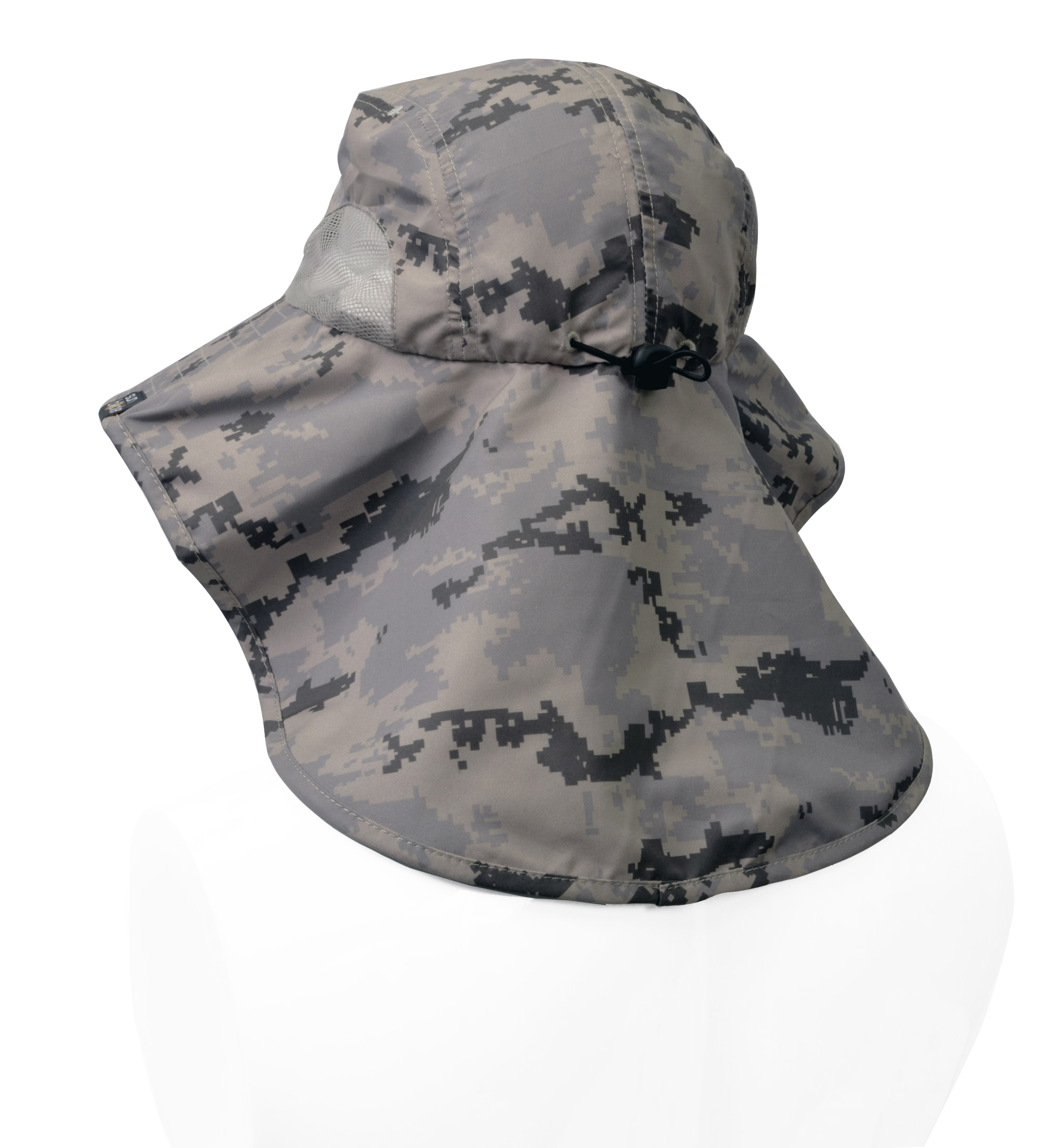Sun-Hat-Camo-Cap-w-Wide-Brim-Ear-amp-Neck-UV-Protection-for-Fishing-Camping-Hiking thumbnail 6