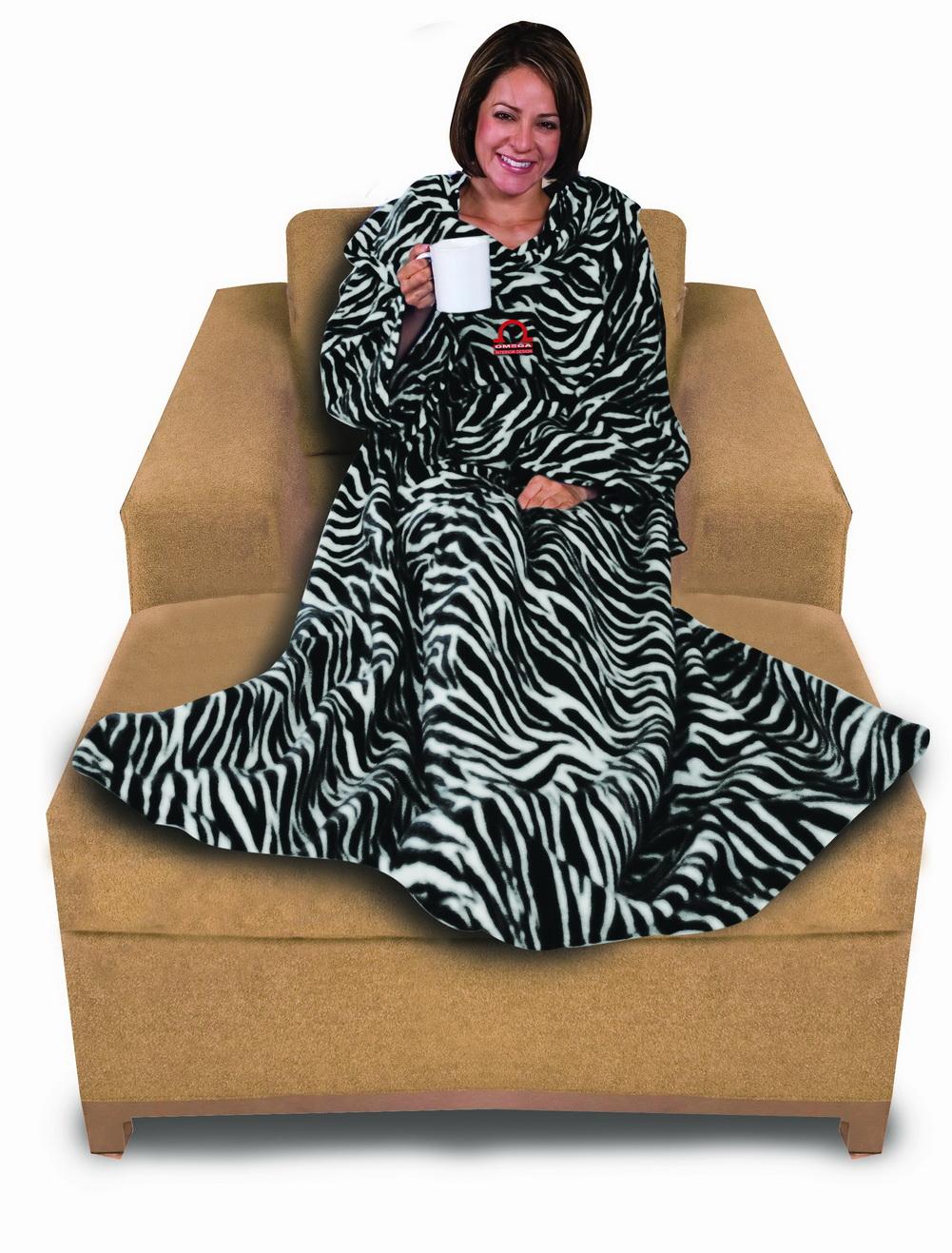 Napa 174 Deluxe Polar Fleece Home Snuggie Robe Cloak Towel