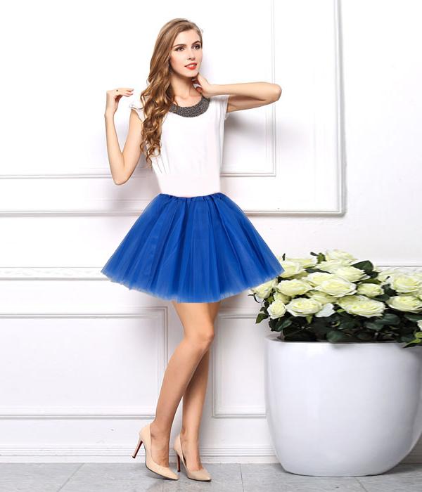 Womens Adult Dancewear Tutu Mini Ballet Pettiskirt Princess Party Skirt Costume