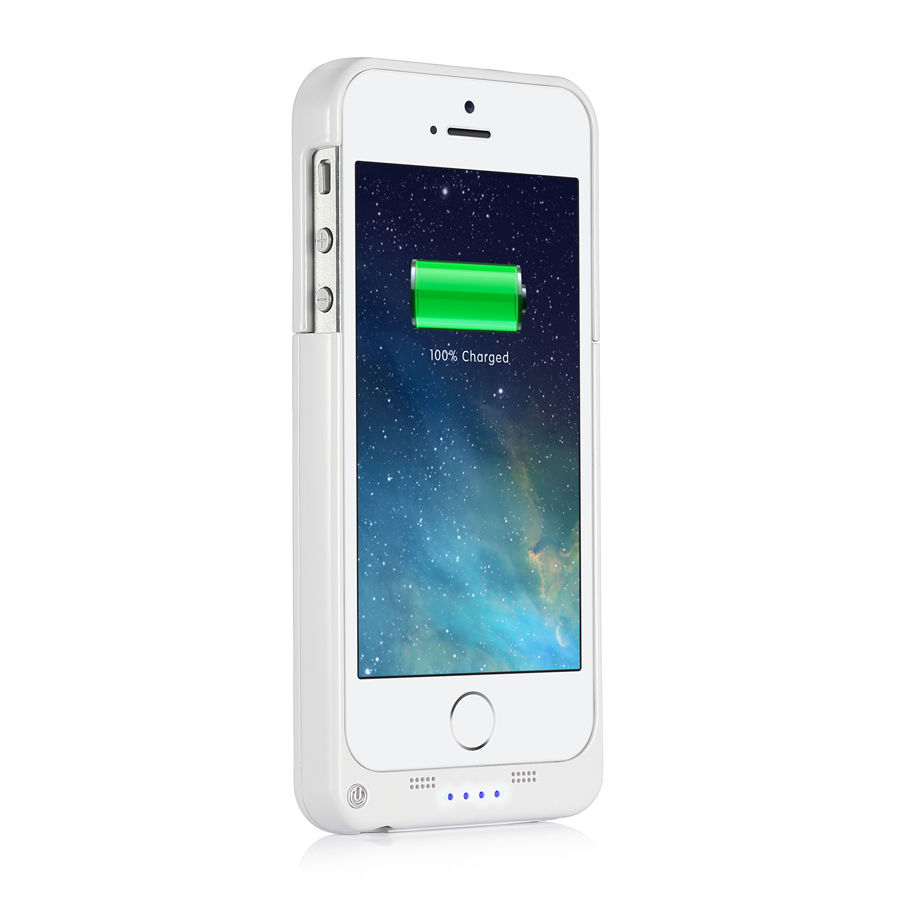 iphone 5s back 2200mah external battery backup charger power bank 1398
